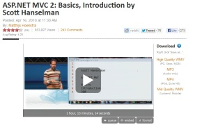 Scott explains MVC