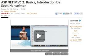 Scott explains MVC