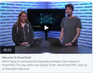 powershell 7 latest