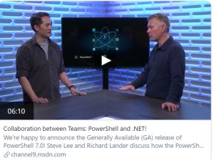 powershell 7 net